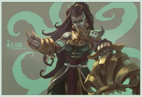 Illaoi - The Tentacle Lady by MonoriRogue