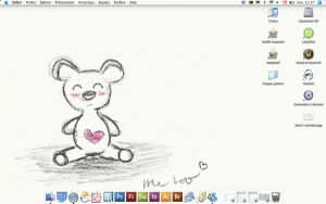 My desktop by Rorohe