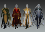 (CLOSED) - Male Outfit Adoptable Set #022 by Timothy-Henri