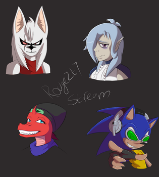 Request Stream sketches by rouge2t7