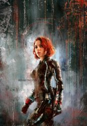 Black Widow by WisesnailArt