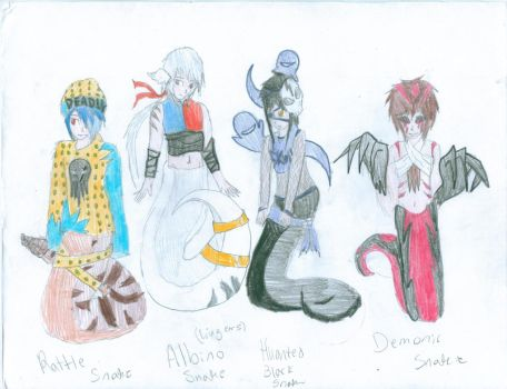 Adoptables! Nagas! Closed all gone! by FoxiUzumaki