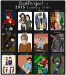 2015 Art Summary by bookfangeek