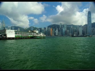 Hong Kong 2005 from Kowloon by uttim
