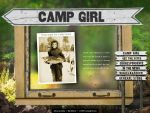 Campgirl Website by ZGDA