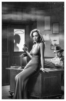 X-FILES Noir by CValenzuela