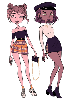 B and G ADOPTS (1/2 -OPEN) by PearlChelle