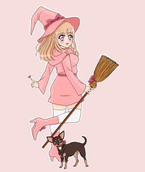 Witchy Art Challenge Day 1: Witchsona by bunprincess