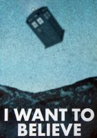 Doctor Who - I Want To Believe by RichSC