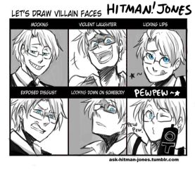 Let's Draw Villian Faces by iAlly