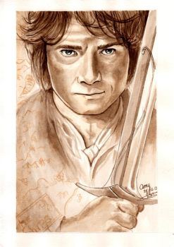 Bilbo the Hobbit by FaceItDrawing