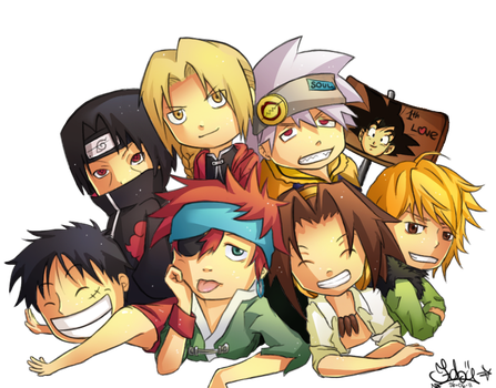 Fave mangas by fallen10faby