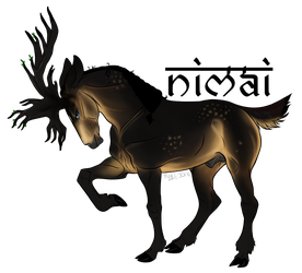 Nimai | Stag | Slave by SunsetRevelation
