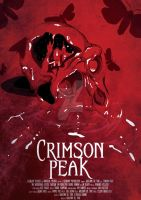 Movie/TV Poster - Crimson Peak by Hyung86