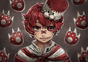 (Multi-cursor Speedpaint) Fukase by Ekkoberry