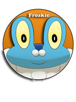 Froakie Pin by BrittanysDesigns