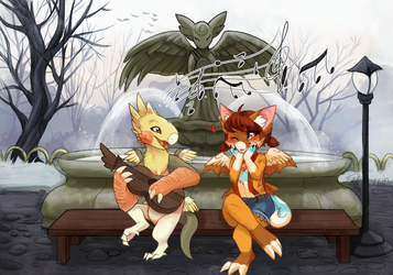 [OC] A song for you by Feligriffin