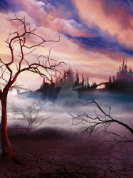 Between Two Worlds ~ The Barricades _ Book Cover by TheSwanMaideN