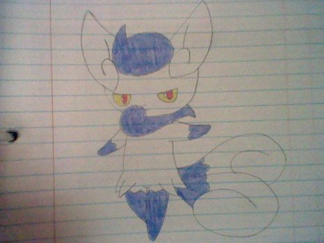 Meowstic (Female) by TheTwistedPuppy