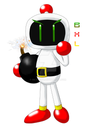 Bomberman XL (Glitch Bomber) by silverick