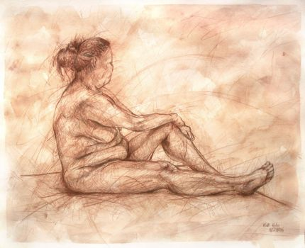 Figure in Brown by Schlady