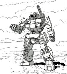 Battletech - Shadow Hawk by Shimmering-Sword