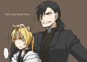 FMA: I am your Boss by c0ralus