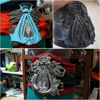 Ezio title belt. by LadyAngelus
