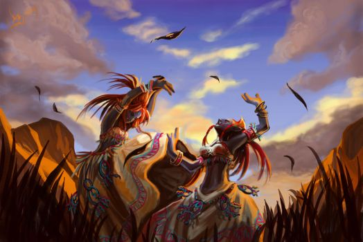 Dance of the Barrens by Athena-Erocith