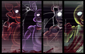 Five Nights at Freddy's by DarkLitria