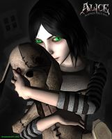 Alice- the orphan with emerald eyes by Dreamwatcher2011