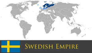 Greater Swedish Empire by PrussianInk