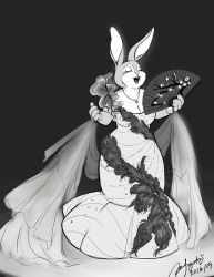 Diva Bunny by Rice-Lily