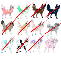 Cheap Set Price Doggoat Adopts  1 OPEN  by Dyysfunctional