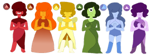 Sapphire Adopts (3/6 OPEN) by p0ssum-adopts