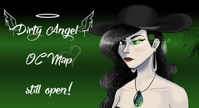 Dirty Angel OC MAP REALLY STILL OPEN! by hylidia