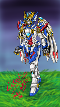Project Storm: Celestin the Phoenix Knight by optimusprimus001