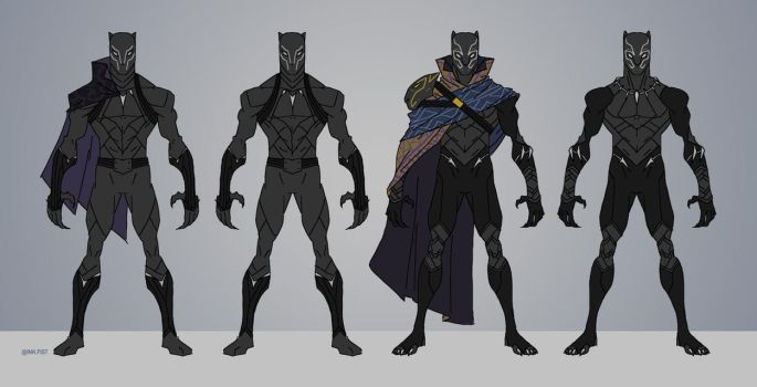 King T'Challa by Tongman