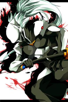Blazblue: One of Six by betrayal-and-wisdom