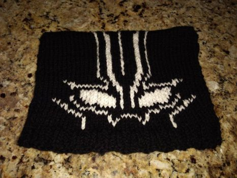 Knitted Black Panther Hat by NantucketCat