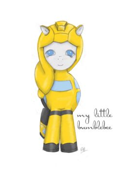 My Little Bumblebee by rosielocks