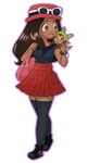 Pokemon X and Y Female Trainer by sashly