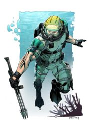 WetSuit colors GI JOE-A-Day by RobertAtkins