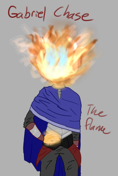 Gabriel The Flame by Maks-Returns123