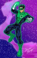 Green Lantern-Current Kyle by Boy-Meets-Hero