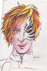 Boy Whit Two Faces by Max-Zorin