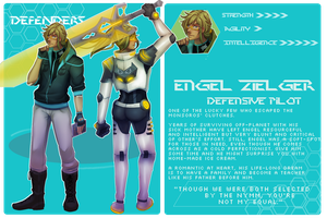 [DEFENDERS] Engel Zielger. by Astra-cat