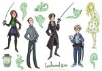 Lockwood and Co. Stickers by Katarina-Mor