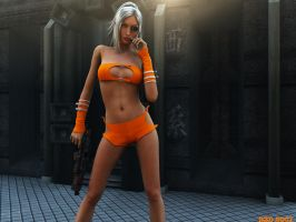 X-Ray Girl by stevey3d