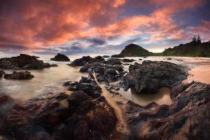 Morning On The Rocks by CainPascoe